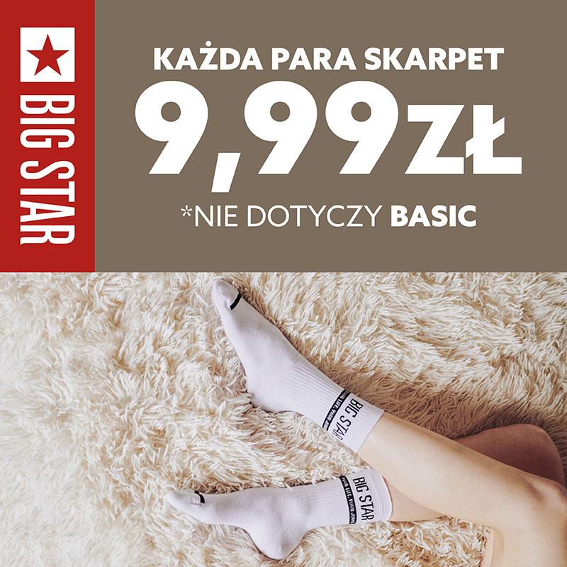 BIG STAR: skarpety w cenie 9,99 zł