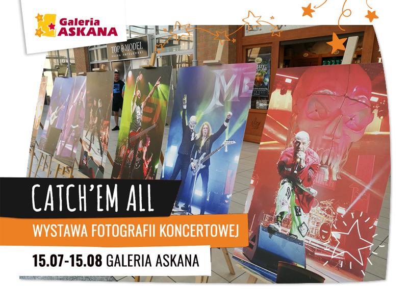 Wystawa fotografii koncertowej – Catch 'em all!