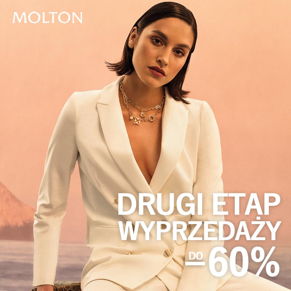 MOLTON: wyprzedaż do -60%