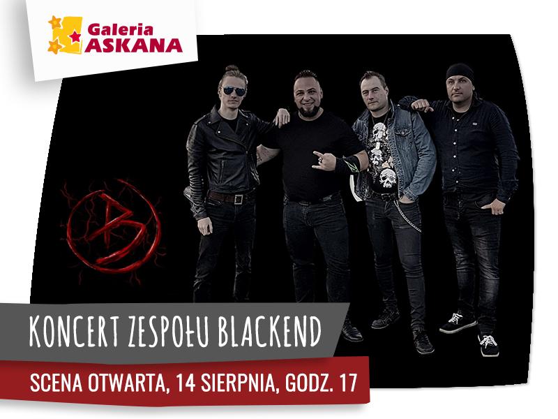 SCENA OTWARTA: koncert zespołu Blackend