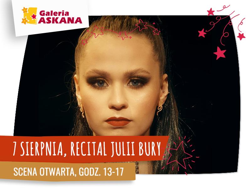 SCENA OTWARTA: recital Julii Bury