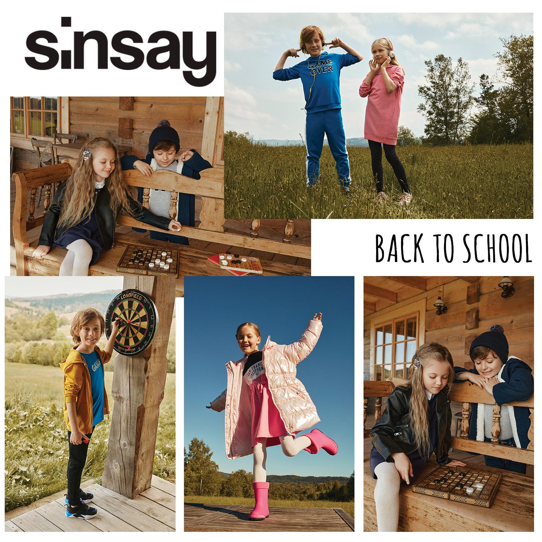 Gotowi na powrót do szkoły z Sinsay?