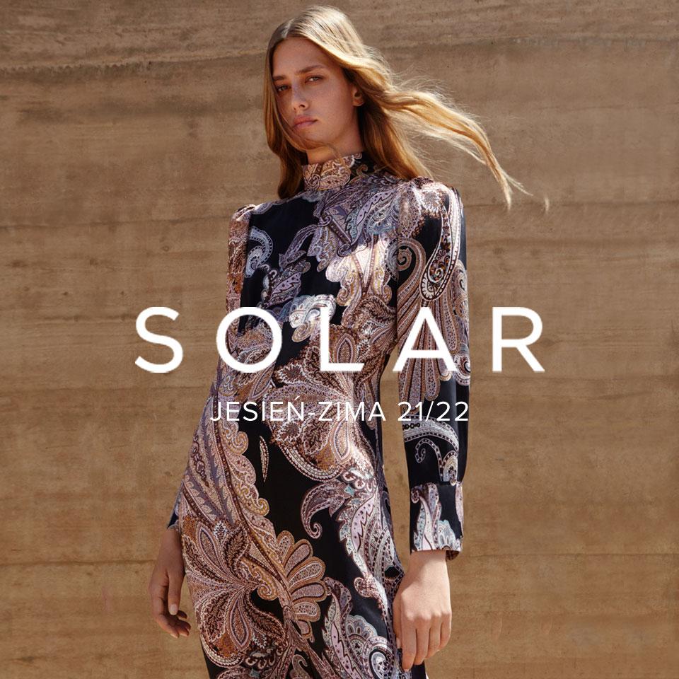 Premiera kolekcji SOLAR na sezon jesień-zima 2021