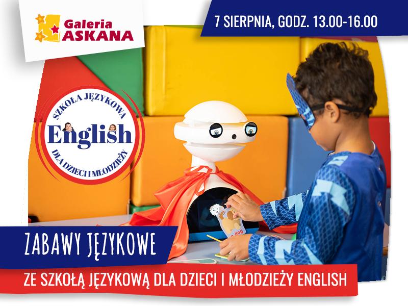Zabawy językowe ze szkołą ENGLISH