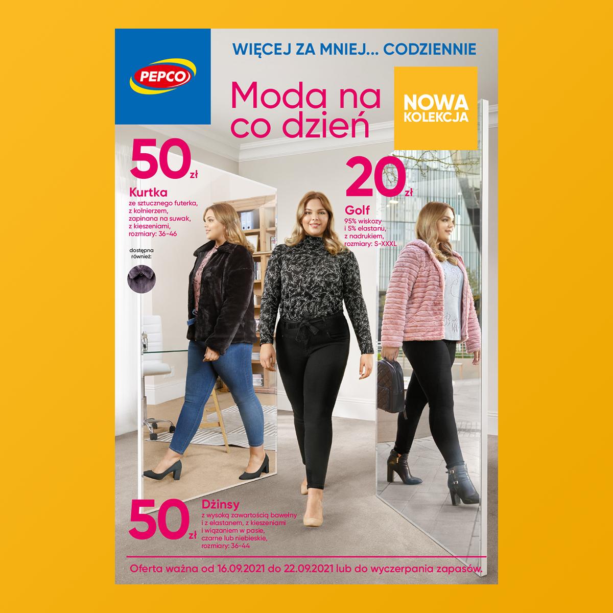 PEPCO: moda na co dzień – gazetka