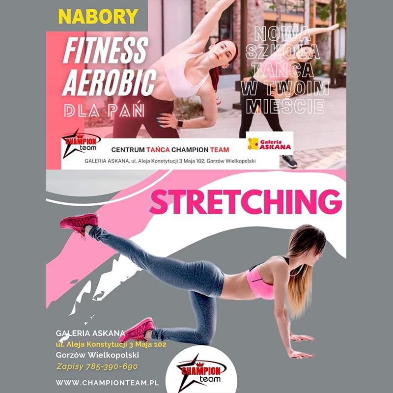 CHAMPION TEAM: nabory na fitness aerobic