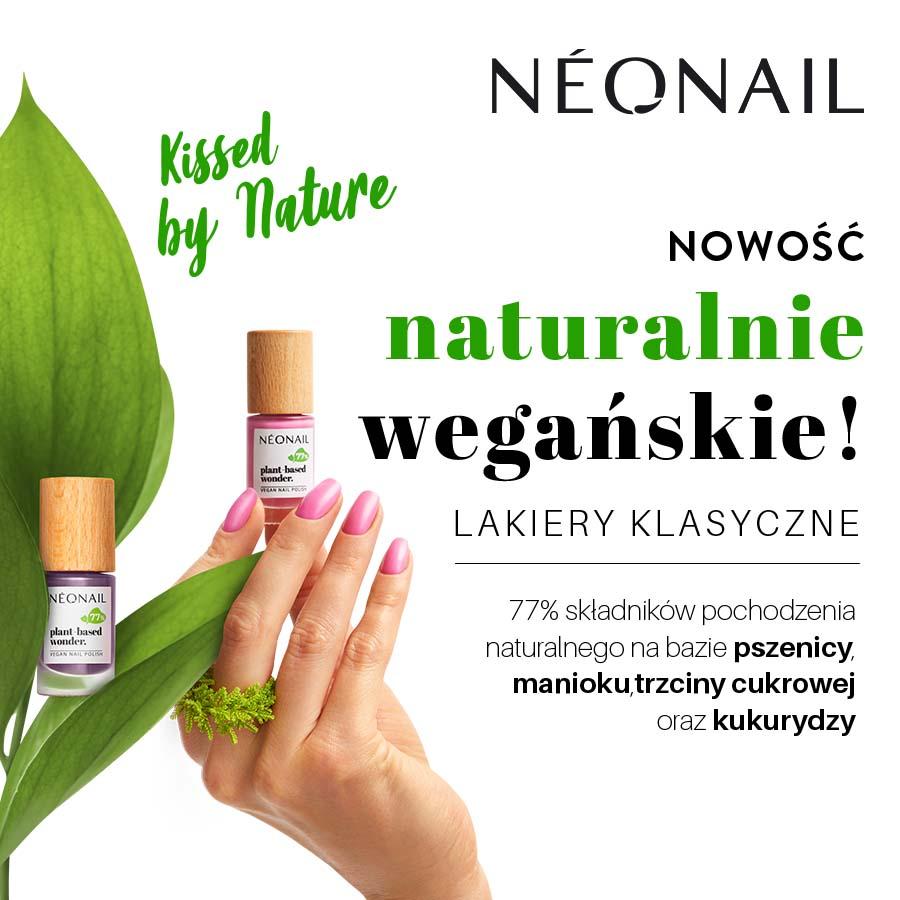 NEONAIL: wegańskie lakiery Plant Based