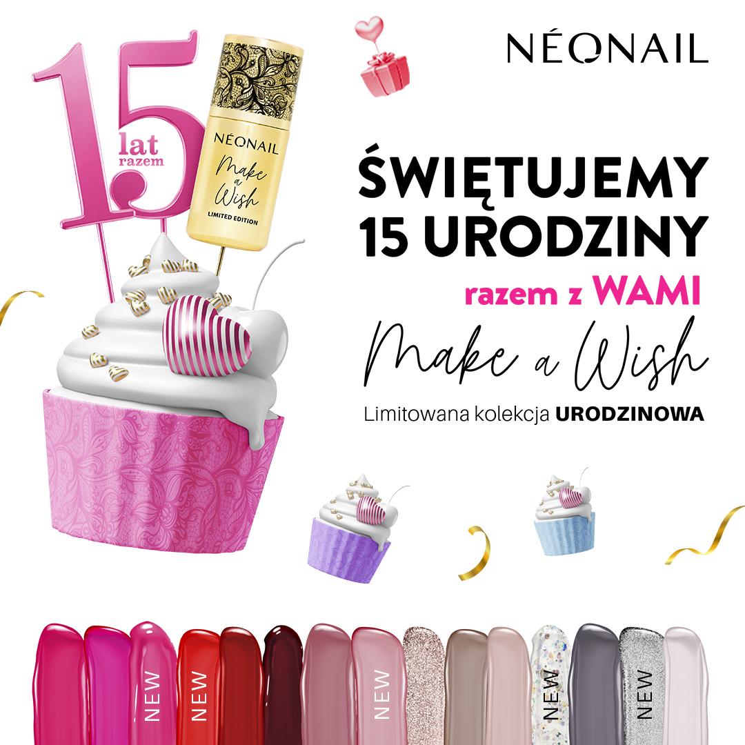 NEONAIL: świętujemy 15 urodziny