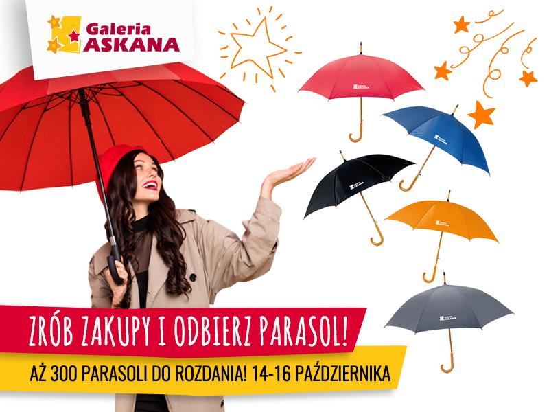 300 parasoli w prezencie